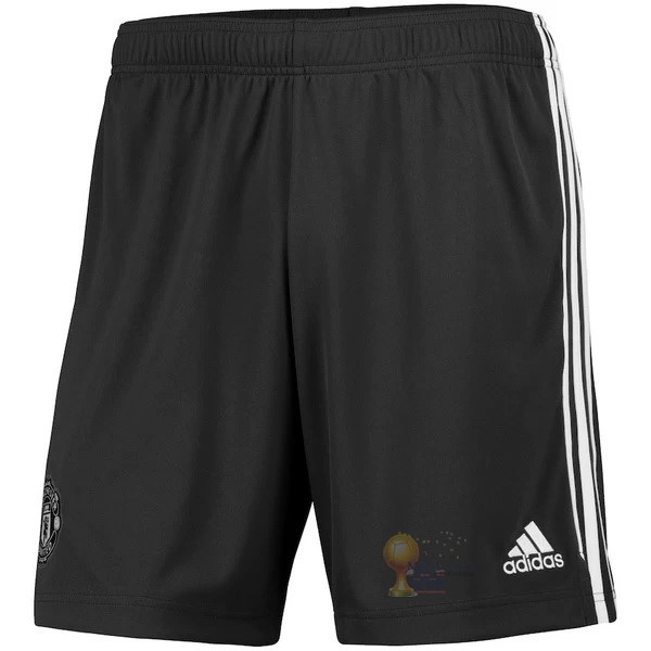Calcio Maglie Away Pantaloni Manchester United 2020 2021 Nero