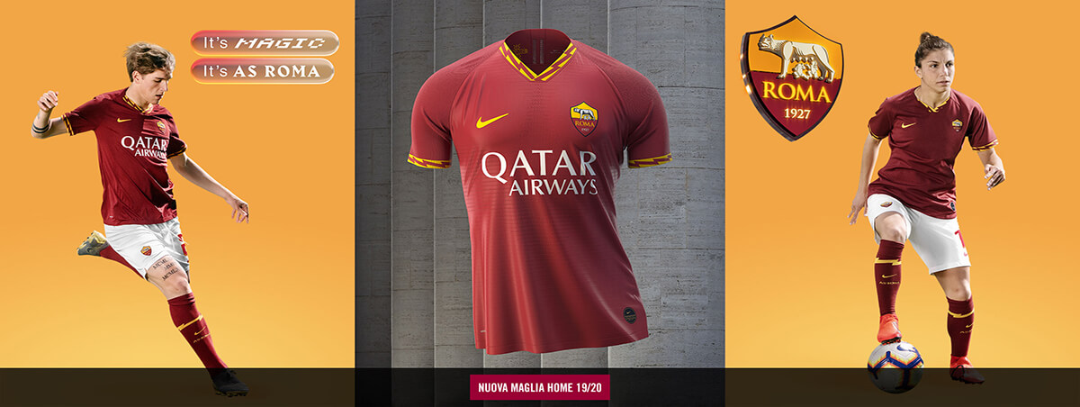 Maglie AS Roma 2020 Calcio